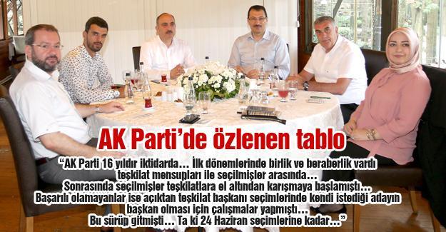AK Parti'de özlenen tablo