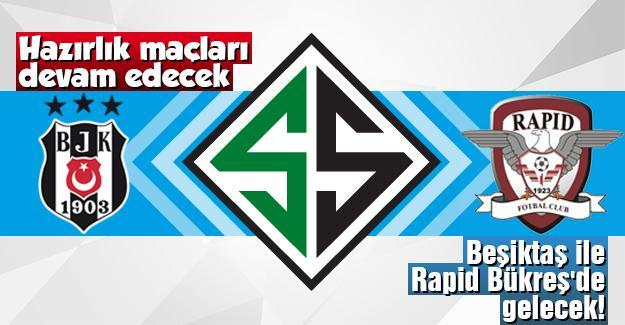 Beşiktaş ile Rapid Bükreş'de gelecek!
