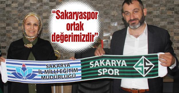 Durmuş'tan Sakaryaspor'a hayırlı olsun ziyareti
