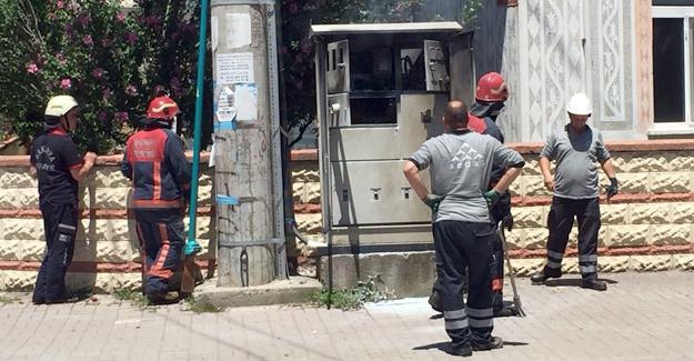 Erenler'de trafo yangını