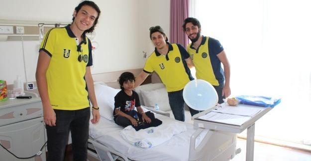 Fenerbahçeli geçlerin ziyareti mutlu etti
