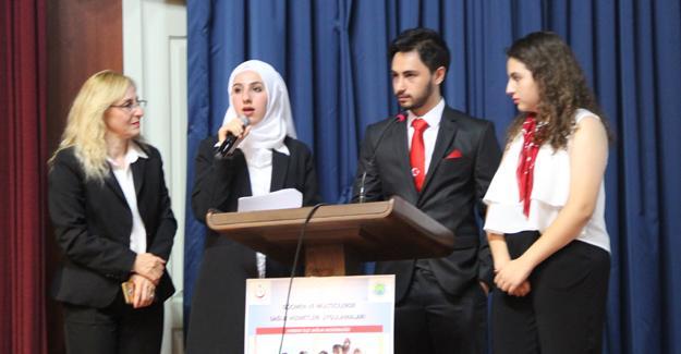 Göçmenlere sağlık konferansı