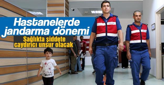 Hastanelerde jandarma dönemi