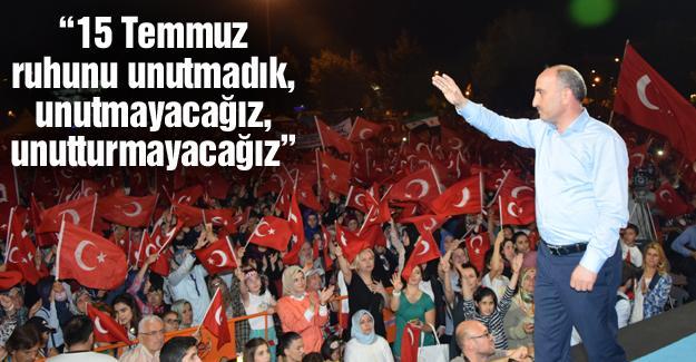 İl Başkanı Kılıç'tan 15 Temmuz mesajı