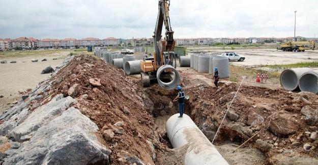 Karasu sanayide altyapı tamamlanıyor
