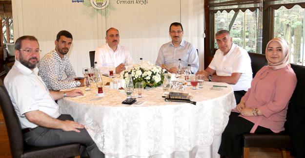 Milletvekilleriyle değerlendirme toplantısı