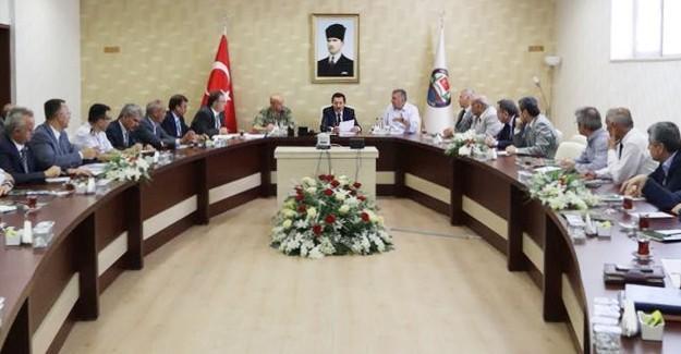 Milli Birlik Günü etkinlikleri toplantısı yapıldı