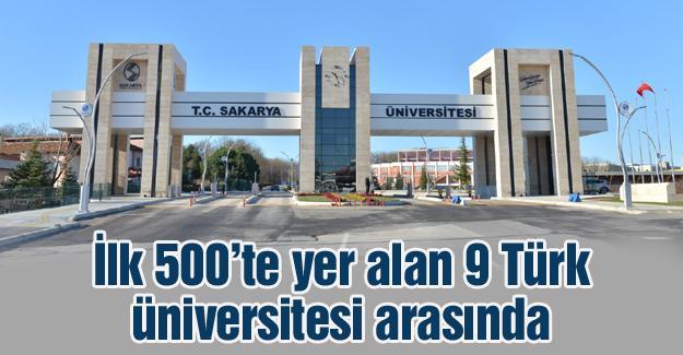 Sakarya Üniversitesi küresel eğitim sıralamasında