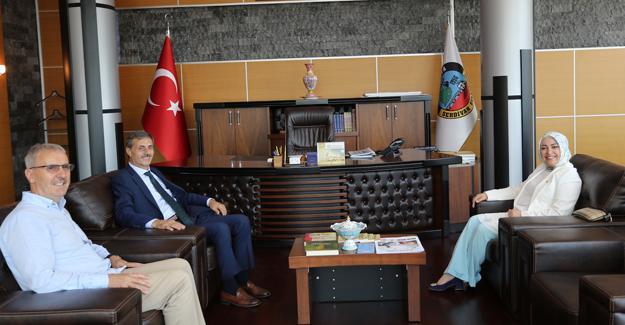 Atabek Başkan Alemdar'ı ziyaret etti