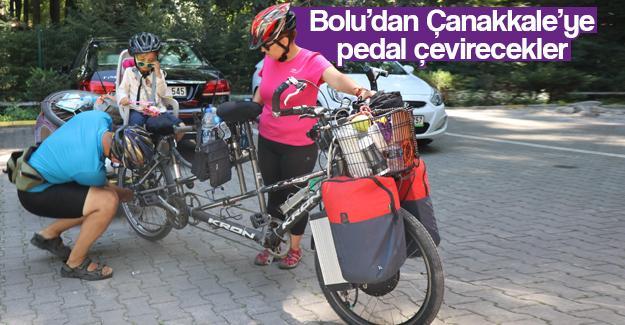 Bin 500 kilometre pedal çevirecekler