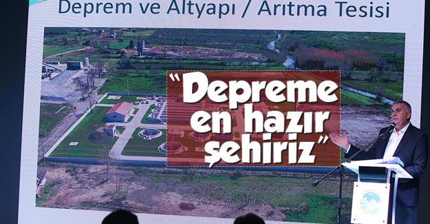 'Deprem Gerçeği ve Sakarya'da Şehircilik' programı düzenlendi