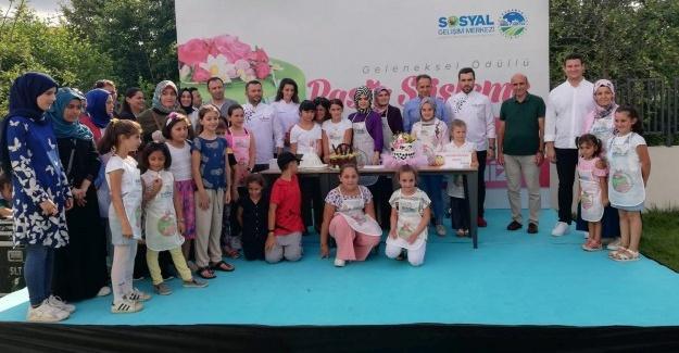En tatlı yarışma Sapanca SGM'de gerçekleşti