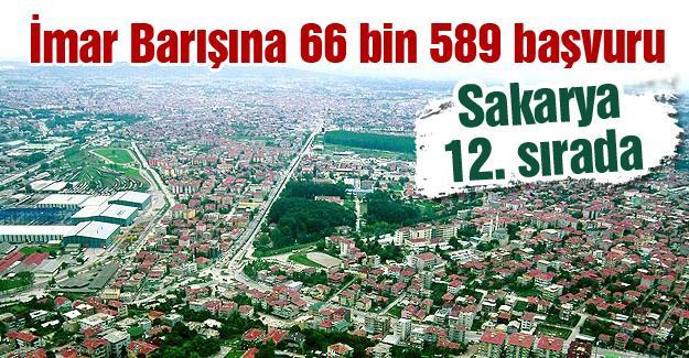 İmar Barışına 66 bin 589 başvuru