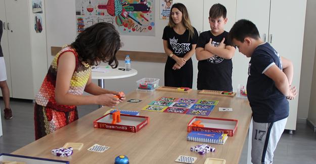 Merkez SGM'de Akıl Oyunları Turnuvası bitti