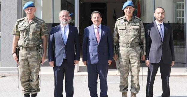 Vali Balkanlıoğlu'ndan Tuğgeneral Acartürk'e ziyaret