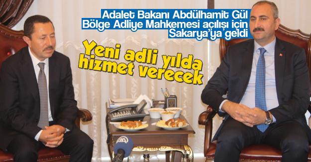 Adalet Bakanı Gül Sakarya'da