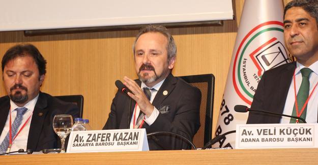 Başkan Kazan Uluslararası Hukuk Konferansında konuştu