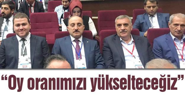 Başkanlar Ankara'da buluştu