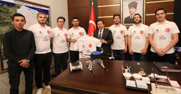 BİRARK ekibinden Vali Balkanlıoğlu'na ziyaret