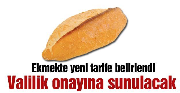 Ekmekte yeni tarife belirlendi