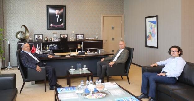 Kaymakam Karabulut'tan, Başkan Altuğ'a ziyaret