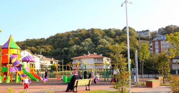 Serdivan'da parklar 7/24 kontrol altında