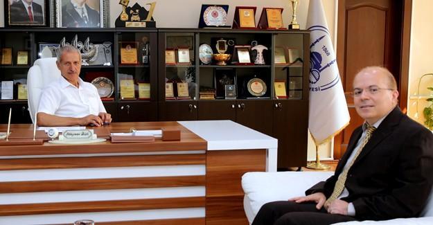 Teknokent Genel Müdürü'nden Başkan Dişli'ye ziyaret