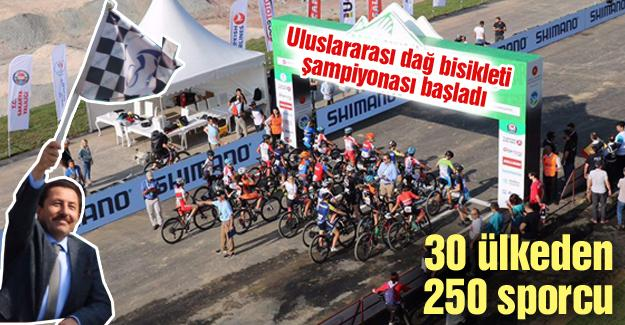 Uluslararası dağ bisikleti şampiyonası başladı