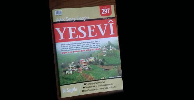 Yesevi Dergisinde Eylül ayı