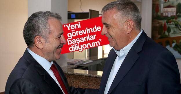 Başkan Toçoğlu, Şaban Dişli'yi ağırladı