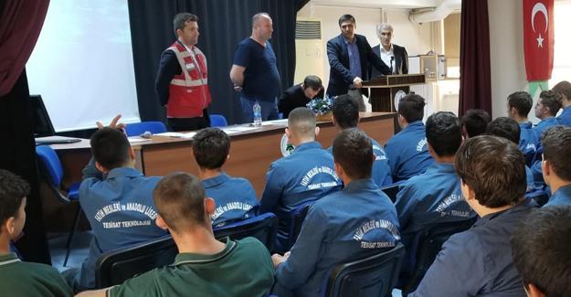 Fatih Mesleki ve Teknik Anadolu Lisesi'nde İş Güvenliği Eğitimi