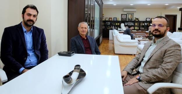 TÜGVA'dan Başkan Dişli'ye ziyaret