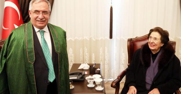 Afgan Prenses Vali Nayir'i ziyaret etti