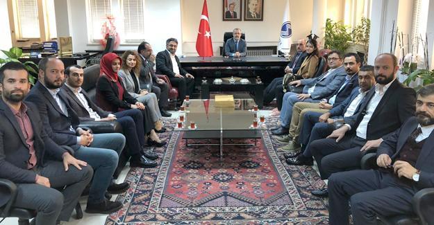 AK Parti'den rektörlere ziyaret