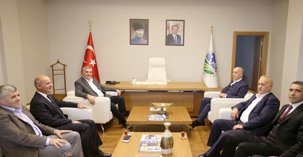 Atalay'dan Toçoğlu'na ziyaret