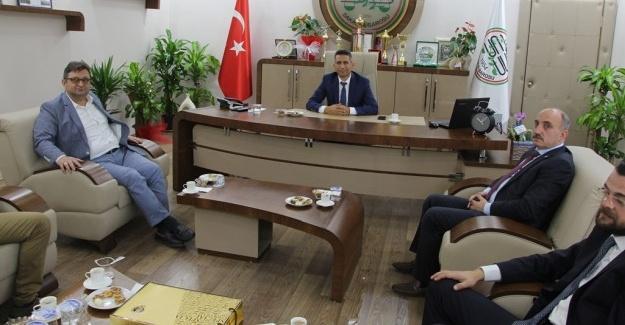 Başkan Kılıç'tan Başkan Burak'a ziyaret