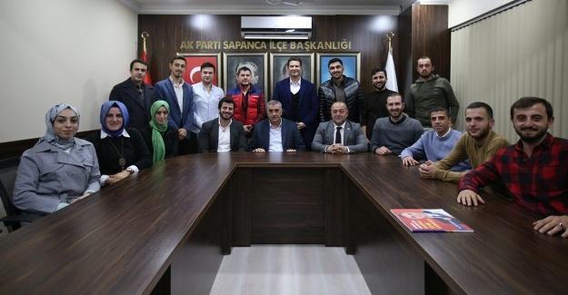 Başkan Toçoğlu AK Partili gençlerin toplantısına katıldı
