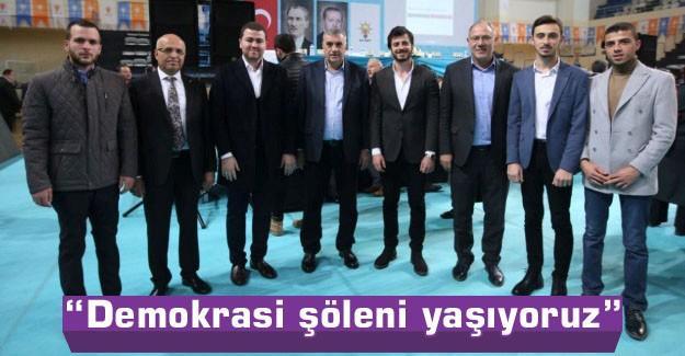 Başkan Toçoğlu temayül yoklamasına katıldı