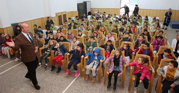 Çocuklara tiyatrolu hijyen eğitimi
