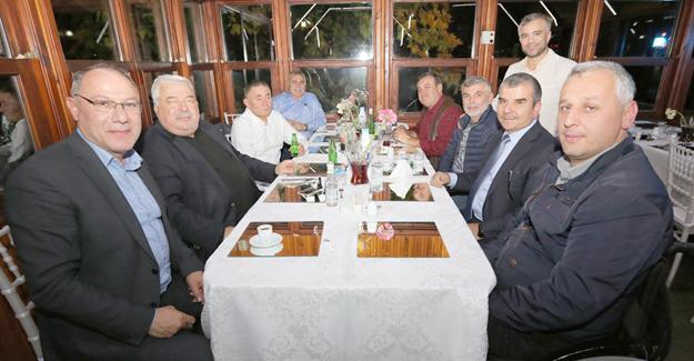 Meclis bütçe yemeğinde buluştu