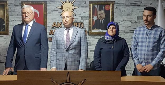 Mustafa Ak başvurusunu yaptı