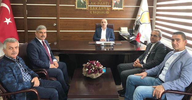 STK temsilcilerinden Başkan Kılıç'a ziyaret
