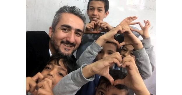 Suriyeli çocuklara rol model etkinlikleri