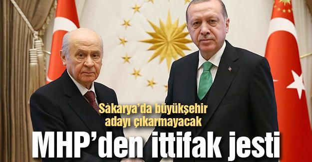 MHP Sakarya'da aday çıkarmayacak!