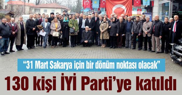 130 kişi İYİ Parti'ye katıldı
