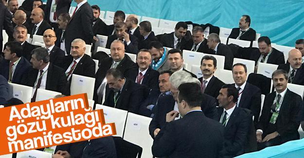 AK Parti Manifestosu açıklanıyor