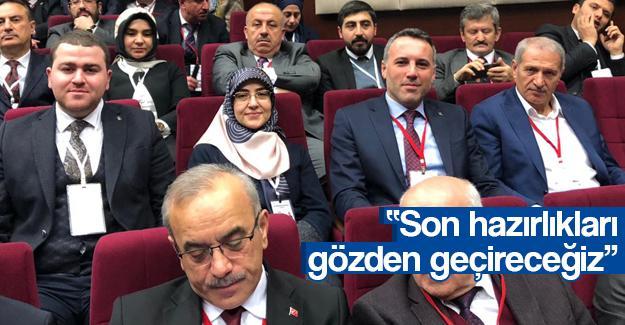 Başkan Tever, Genişletilmiş İl Başkanları toplantısına katıldı
