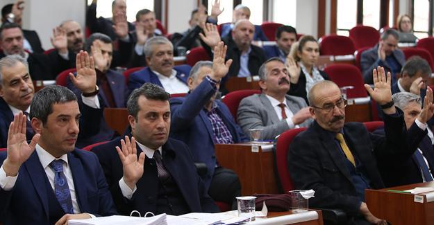 Büyükşehir Ocak Meclis Toplantısı yapıldı