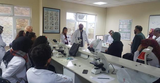 Öğretmenlere 'Laboratuvar Kullanımı Eğitimi'
