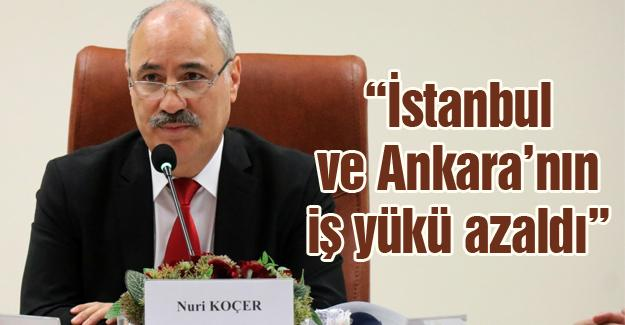 Bölge Adliye Mahkemesi Başkanı Koçer'den değerlendirme